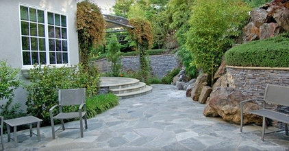 contemporary patio by Aitken and Associates