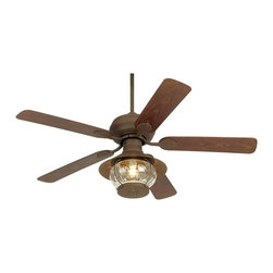 "Casa Vieja - Asian 52"" Casa Vieja® Rustic Indoor/Outdoor Ceiling Fan - UL rated for outdoor use this Casa Vieja® ceiling fan will make your next outdoor gathering a cool and comfortable affair. Motor and light kit housing comes in a rust finish over a stamped steel housing. 3 speed 172 x 17 motor with pull-chain operation. With independent fan light operation. Outdoor rated light kit takes one 60 watt bulb (included). Comes with a 6"" downrod. Dual mountable. Suitable for both indoor and outdoor use.  Rust finish.  13 degree blade pitch.  52"" blade span.  Lantern style light kit.  Light kit 9"" height and 14"" wide.  Takes one 60 watt bulb (included).  6"" downrod included.  Fan height 16"" ceiling to blade (with 6 "" downrod).  Fan height 25.6"" ceiling to bottom of light kit. (with 6"" downrod).  Canopy 5.2"" wide and 2.2"" long."