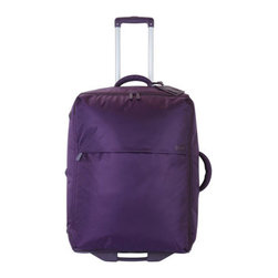 """Lipault - Lipault 28"""" 2 Wheel Trolley - Ultra-lightweight luggage comes in easy-to-identify bright colors as well as basic black; select color when ordering. Includes a 3-year warranty, combination lock, and luggage tag. Made of nylon/polyester. Imported. 28"""" trolley, 19""""W x 10""""D with 16"""" t..."""