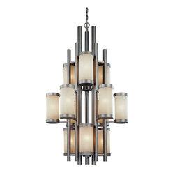 Dolan Designs - Dolan Designs 2623-66 Cortona Vista 12 Light Chandelier - Dolan Designs 2623-66 Cortona Vista Transitional 12 Light Chandelier