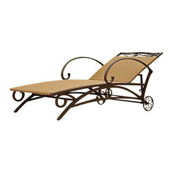 International Caravan - International Caravan Valencia Wicker Multi Position Chaise Lounge - International Caravan - Patio Lounges - 4111SGL - For over 44 years International Caravan has been one of the leaders in quality outdoor and indoor furniture. Using only the finest materials they bring skill craftsmanship and complete dedication to those who enjoy their furniture. You cannot go wrong with any of International Caravan's beautifully constructed pieces of furniture that are sure to be a focal point inside or outside of your home for years to come