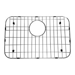 ALFI brand - ALFI GR503 Stainless Steel Protective Grid for AB503 Kitchen Sink - Protect your investment with this solid stainless steel grid that sits on the bottom of your fireclay sink. Protects the sink from nicks or cracks caused by heavy pots or pans dropped in, reduces the need for cleaning marks or stains of the bottom of the sink.