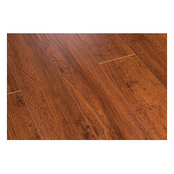 Toklo - Toklo Laminate - 8mm Collection - [21.0 sq ft/box] - Royal Oak -      The Toklo 8mm Collection is a first-quality, high-end, AC3 Rated, CARB-ATCM - Phase 1 compliant, HDF core flooring.The drop lock locking system allows for ease of installation without using glue and can be installed above or below ground. This laminate flooring is suitable for residential and light commercial applications and comes with a 25 year residential warranty (5 year commercial warranty).