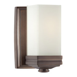 Metropolitan - Metropolitan N2811 Single Light Bath Vanity with Glass Shade from the Metropolit - Traditional / Classic Single Light Bath Vanity with Glass Shade from the Metropolitan CollectionStrong and austere, this single light wall sconce lights up any room.Features: