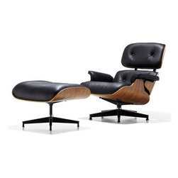 Herman Miller - Herman Miller   Eames® Lounge Chair with Ottoman - Design by Charles & Ray Eames, 1956.