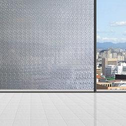 White Translucent Privacy Window Film - Instruction:
