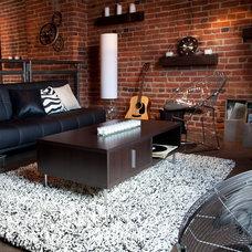 Modern Living Room by Hayneedle