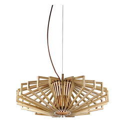 Diamond Plywood Shade Home Ceiling Lighting Pendant - Insprired by Japanese contemporary design, this stunning pendant light features a geometric frame made from natural wood. It diffuses beautiful and romantic glow, perfect for placing in your living rooms, dinning rooms or enterways to improve your interior decor.