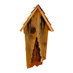 Heartwood - Vintage Bat House - This  beautiful  bat  house  is  the  perfect  addition  to  any  home  or  garden  of  your  choice.  You  know  about  the  birds  and  the  bees,  but  what  about  the  bats  and  bees?  Did  you  know  that  besides  eating  mosquitos,  some  bats  are  also  great  pollinators?  No  wonder  people  are  batty  about  these  super  heroes,  the  only  mammal  that  can  actually  fly.  And  fly  they  will  into  the  Vintage  Bat  House,  with  its  great  looks  and  clever  knot-or-not  opening.  This  bat  house  is  one  you  are  sure  to  enjoy  in  the  years  to  come.                  4x11x23              Sleek  wooden  design              Handcrafted  in  USA  from  renewable,  FSC  certified  wood