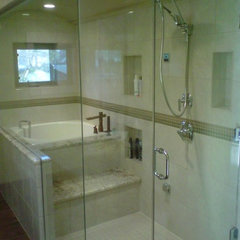 contemporary bathroom by New Style Kitchen Bath &amp; Patio