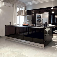 contemporary floor tiles by Cercan Tile Inc.