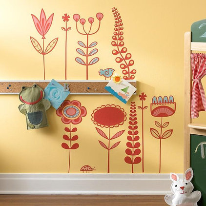 contemporary decals by The Land of Nod