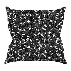 """Kess InHouse - Julia Grifol """"My Dreams"""" Throw Pillow (18"""" x 18"""") - Rest among the art you love. Transform your hang out room into a hip gallery, that's also comfortable. With this pillow you can create an environment that reflects your unique style. It's amazing what a throw pillow can do to complete a room. (Kess InHouse is not responsible for pillow fighting that may occur as the result of creative stimulation)."""