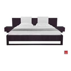Bestsellers - Monroe Bed - Queen Wenge MD316-Q-WEN by Modloft