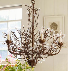 Camilla 6-Arm Chandelier | Pottery Barn
