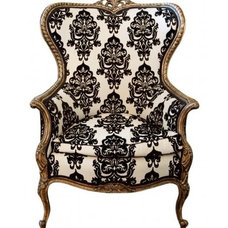 Traditional Armchairs And Accent Chairs The Wing Chair