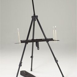 Martin Universal - Martin Universal Integra Field and Studio Easel - 92-AE018 - Shop for Art Easels from Hayneedle.com! The Martin Universal Integra Field and Studio Easel makes it easy to be creative wherever you may be. This easel is a classic tripod design and is made of durable and lightweight aluminum it weighs only 6 pounds. It has the structure of a tabletop easel and the mobility of a folding version. This easel can accommodate up to a 57.25-inch canvas making it perfect for any size of project. Metal spikes in the legs keep it stable outdoors and they retract for indoor use. This indoor/outdoor easel folds easily into a small size and comes with a handy tote bag for easy portability and storage.About Martin Universal Design Inc.Over 40 years ago Dennis Kapp founded Martin Universal Design Inc. which incorporated the wholesale importing and manufacturing of Northwest Blue Print the company Mr. Kapp's father founded in 1946. The Kapp family then purchased a business started by Ray Martin who was the first designer and crafter of drafting templates in the United States. Since then the family has been carrying on the tradition of creating high-quality artist accessories and furniture. Today Martin Universal Design Inc. supplies the art industry with a complete range of quality artist accessories drafting tables materials and tools.'