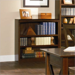 Harvard 36 in Book Shelf in Antique Walnut - A simple and versatile way to store your books and other media is this Harvard 36 in Book Shelf in Antique Walnut. Simple in its design, this bookcase with eco-friendly hardwood construction will bring tasteful organization to a living room, bedroom or home office.