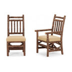 La Lune Collection - Rustic Side Chair #1198, Arm Chair #1200 by La Lune Collection - Rustic Side Chair #1198 and Rustic Arm Chair #1200 by La Lune Collection