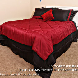 "Comfortibles-DJ Laila Jade 11 Collection - Thais Wilson is the Visionary behind ""Comfortibles"" The Convertible Comforter."