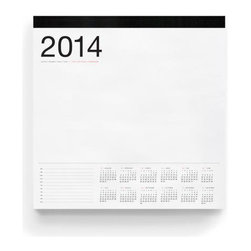 Russell + Hazel - 2014 Smart Deck Desk Calendar - by Russell + Hazel - Its a love of aesthetics that sets russell+hazel apart from its competitors. The company creates objects for the office that show a pleasantly surprising attention to design - from color choice to form and, of course, material. The 2014 SmartDeck with a year at a glimpse on each page. Printed on bright white paper, and oversized for the big jobs.