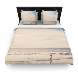 "Kess InHouse - Myan Soffia ""Ritual"" Beach Sand Fleece Duvet Cover (King, 104"" x 88"") - You can curate your bedroom and turn your down comforter, UP! You're about to dream and WAKE in color with this uber stylish focal point of your bedroom with this duvet cover! Crafted at the click of your mouse, this duvet cover is not only personal and inspiring but super soft. Created out of microfiber material that is delectable, our duvets are ultra comfortable and beyond soft. Get up on the right side of the bed, or the left, this duvet cover will look good from every angle."