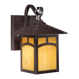Vaxcel Lighting - Vaxcel Lighting TL-OWD070 Taliesin 1 Light Outdoor Wall Sconce - Features: