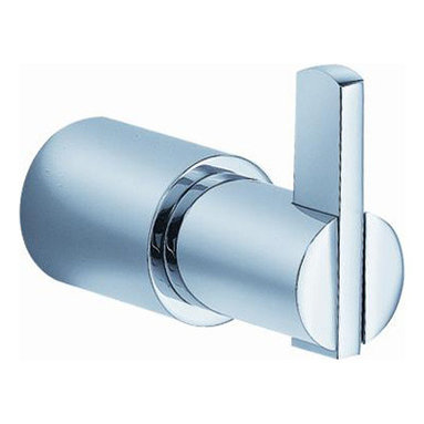 """Fresca - Fresca Magnifico Robe Hook - Chrome - Dimensions:  1""""W x 1.5""""D x 1.5""""H. Heavy Duty Brass with Triple Chrome Finish.   All of our Fresca bathroom accessories are made with brass with a triple chrome finish and have been chosen to compliment our other line of products including our vanities, faucets, shower panels and toilets.  They are imported and selected for their modern, cutting edge designs."""