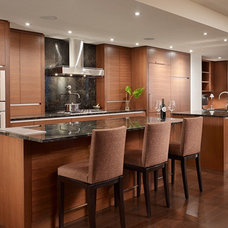 Contemporary Kitchen by NB Design Group, Inc