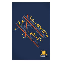 08 Left - 008 Left DAL - Dallas Metal Print - As good as it gets. Ready to hang. Absolutely stunning and tough as rocks.
