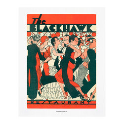 """Cool Culinaria - The Blackhawk, Chicago, 1933 Vintage Menu Art Print, 16x20"""" - Cool Culinaria Giclee Prints on 130lb Sunset Velvet Archival Art Paper. Printed in New York."""