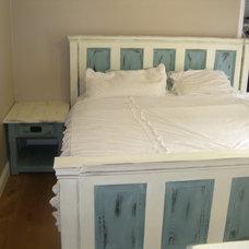 Eclectic Beds by Rustic Door Designs