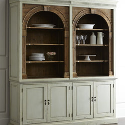 Traditional Bookcases, Cabinets and Computer Armoires : Find Shelving Units, Display Cabinets ...