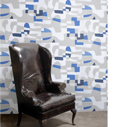 None - Jim Flora's Shapeshifter Wall Tile Sheets (Set of 2) - Wallpaper Tiles are a fun and carefree way to decorate any space, along with being easy to install and completely removable. These Jim Flora's Shapeshifter wall tiles are reusable, making them an ideal choice for renters.