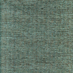CARMEN CHENILLE - SEA BREEZE - Calvin Fabrics - CARMEN CHENILLE - SEA BREEZE - muted teal is offset with pinpoints of icy sea foam and chocolate in this low relief, American woven chenille - contract rating: WYZENBEEK: 60,000 & NFPA/UFAC CLASS I