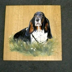 Great Gift - Portrait of Your Dog - Made by http://www.ecustomfinishes.com