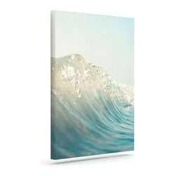 """Kess InHouse - Bree Madden """"The Wave"""" Wrapped Art Canvas (24"""" x 20"""") - Bring your outdoor patio to life with this artistic outdoor canvas wrap featuring gorgeous artwork by KESS InHouse. These canvases are not only easy to hang and remove but also are the perfect addition to your patio collection. These canvases are stretched around a wooden frame and are built to withstand the elements and still look artistically fabulous. Decorating your patio and walls with these prints will add the splash of art and color that is needed to bring your patio collection together! With so many size options and artwork to choose from, there is no way to go wrong with these KESS Canvas Wraps!"""
