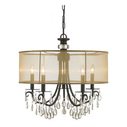 Hampton Chandelier by Crystorama -