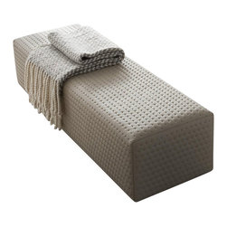 Rossetto - Rossetto Air Bed Bench - Rossetto - Bedroom Benches - T422700020N12 - The padded bench accents the natural appeal of the air bedroom. This padded bench will sure enhance the complete collection of the room. Features: