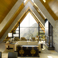 Contemporary Living Room by Hensel Design Studios