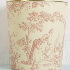 Traditional Wastebaskets by frenchtreasures.co.uk