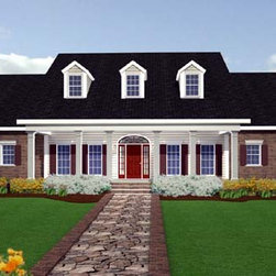 House Plan 64547 at FamilyHomePlans.com -