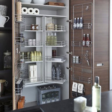 Contemporary Pantry by Belle Design Build