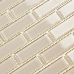 Bodesi - Shaker Solid Color Subway Mosaic Glass Tile for Kitchen Backsplash or Bathroom f - A perfect beige, this one is just what you are looking for. Subtle, warm and gentle, but certainly not boring. Bring your room together with this attractive and understated glass mosaic tile. Easy coloring and a static subway mosaic pattern. Use this tile where anything busier would be too much, but anything less would not be enough. Our solid color series of tiles are perfect where subtlety is required. Firm mesh and picture perfect grout lines are sure to impress. Matched with a price that is hard to beat, this tile is very high quality material and craftsmanship to polish of your next renovation.