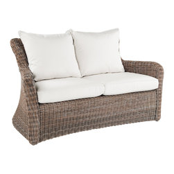 Sag Harbor Settee - By Kingsley Bate - Hand-crafted from the finest all-weather materials, our SAG HARBOR deep seating settee is a beautiful addition to any natural setting.