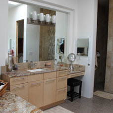Contemporary Bathroom Vanities And Sink Consoles by Signature Cabinetry & Design Solutions