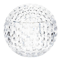 Mario Luca Giusti - Golf Champagne/Ice Bucket - Could you tell this is acrylic? It looks so real that everyone thinks it's crystal until they lift it. It is perfect for both casual and upscale gatherings.