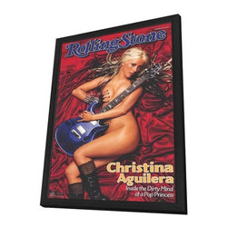 Aguilera, Christina 11 x 17 Music Poster - Style B - in Deluxe Wood Frame - Aguilera, Christina 11 x 17 Music Poster - Style B - in Deluxe Wood Frame.  Amazing movie poster, comes ready to hang, 11 x 17 inches poster size, and 13 x 19 inches in total size framed. Cast: