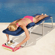 Contemporary Outdoor Chaise Lounges by Brookstone