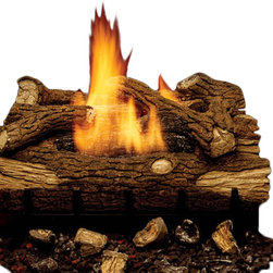 "Majestic Products - Majestic Eyf30-r 30"" Mountain Oak 5-piece Multi-log Set. For Use With Eyf24 Burn - Majestic EYF30-R--30"" Mountain Oak 5-piece Multi-Log Set. For use with EYF24 burner."